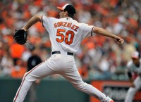 Orioles' Gonzalez set for first playoff start in big spot