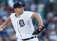 Tigers send out Scherzer for Game 1 of ALDS