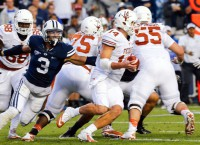 Texas QB Ash out for Mississippi game
