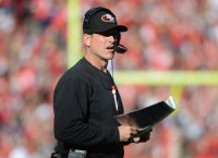 Niners fumbling Harbaugh situation