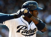 Back from suspension, Maybin makes Padres' outfield fuller