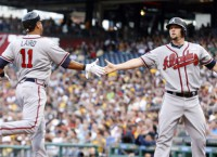 Hot Braves insist they aren't scoreboard watching