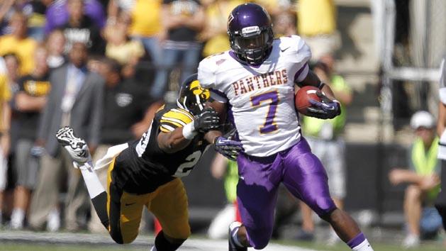 UNI's Johnson leads small school NFL prospects