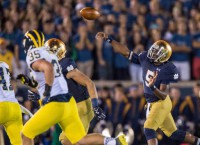 Notre Dame overpowers Michigan as rivalry ends