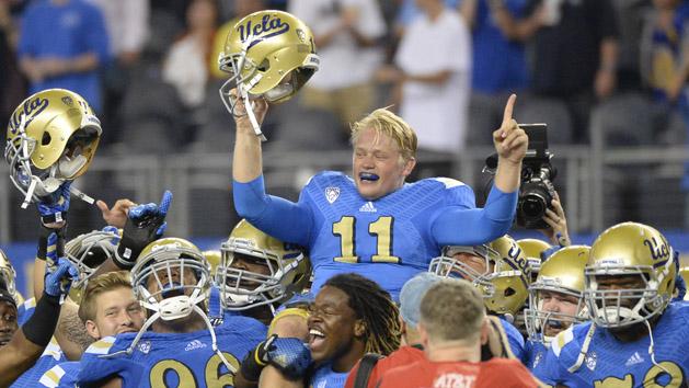 UCLA edges Texas behind Neuheisel TD pass