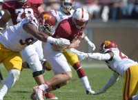 USC DE Williams expects to play Saturday