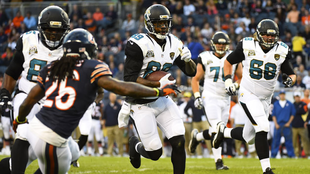 Jaguars lose TE Lewis for up to two months