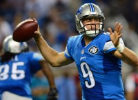 Behind Stafford, Johnson, D, Lions romp New York
