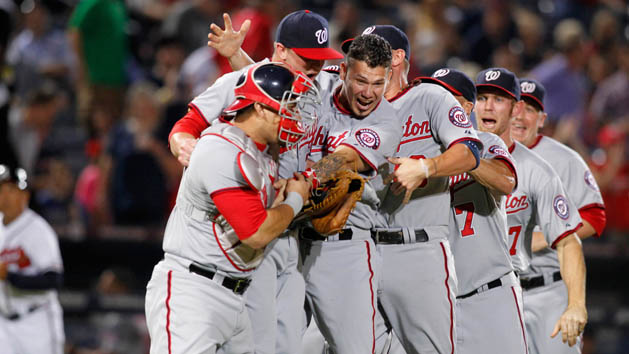 Nationals clinch NL East with win over Braves