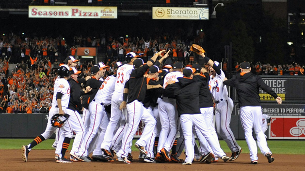 Orioles wrap up AL East with win over Blue Jays