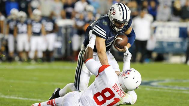 No. 25 BYU holds off Houston's comeback bid