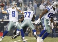 Cowboys hammer Saints behind Romo, Murray