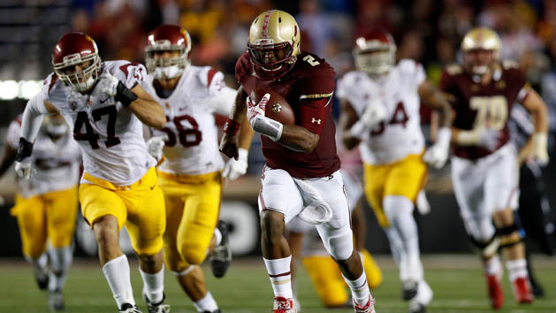 Boston College knocks off heavily favored USC
