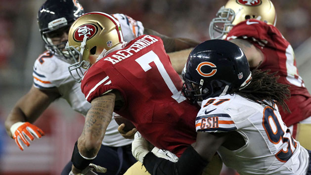 49ers O-Line gets pants beat in Levi's debut