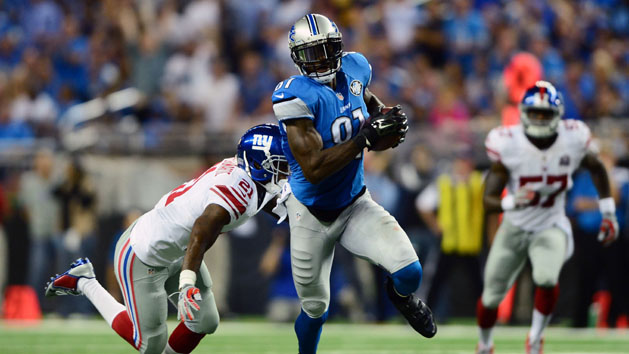 Lions WR Johnson could return this week
