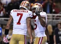 Kaepernick, defense spark Niners win over Rams
