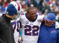 Bills' Jackson may miss month; Spiller out