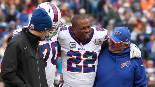 Bills' Jackson may miss month; Spiller out