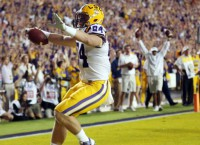 LSU upsets Ole Miss on emotional night for Miles