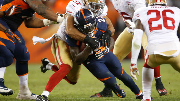 Who needs Ball? Broncos' Hillman has led run game