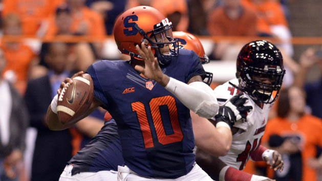 Syracuse QB out for up to six weeks