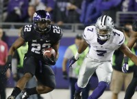 TCU jumps into top four in playoff rankings