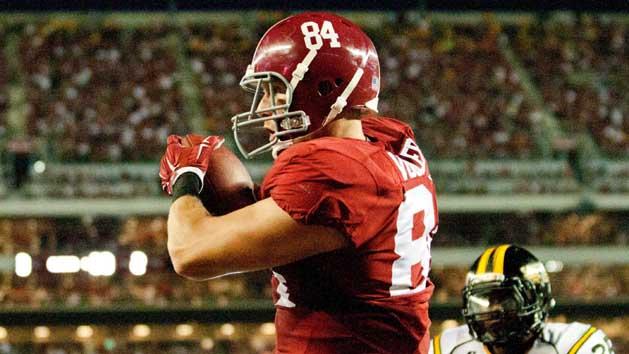 Alabama TE Vogler quesitonable for Iron Bowl