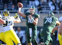 QB Cook plans to remain with Spartans for senior year