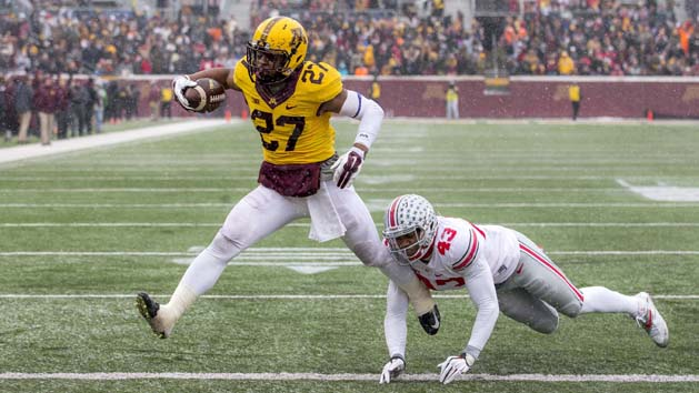 Gophers RB Cobb 'very questionable' vs. Badgers