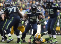 'Beast Mode' persona resonates with Seattle fans