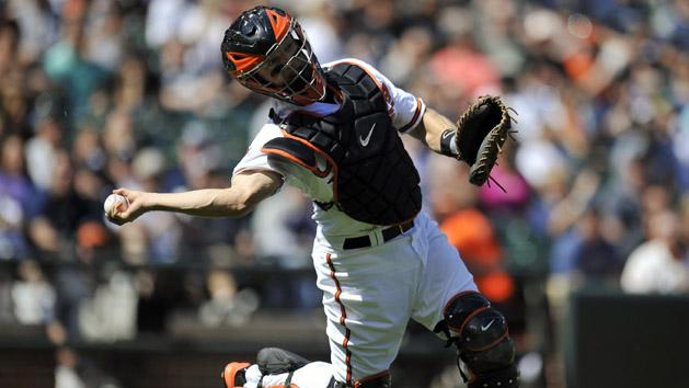 Hundley settles in as Rockies' regular catcher