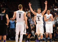 BYU's Collinsworth ties triple-double record in win