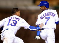 Cubs rally to beat Reds in extras on Alcantra hit