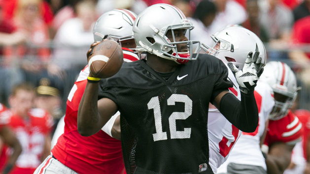 Ohio State sets CFB record for spring game attendance