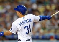 Dodgers rookie Pederson soaking it in