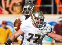Former Notre Dame OL Hegarty transfers to Oregon