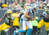 Panthers TE Olsen is getting better with age