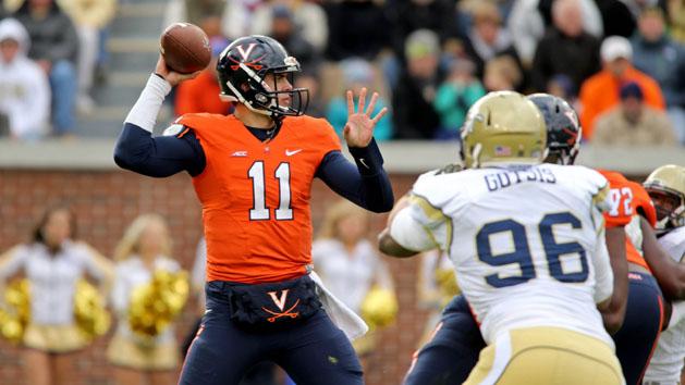 QB Lambert leaving Virginia for Georgia
