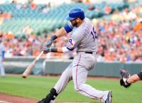 Rangers bash four homers, rout Orioles
