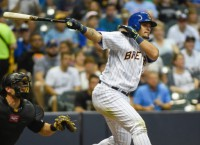 Brewers' Parra drives up his trade value