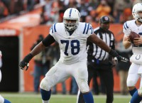 Colts release starting right tackle